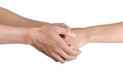 Трясти руки 2 мужских людей Стоковое Изображение RF