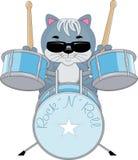 Тряхните барабанщика крена n Стоковое Изображение