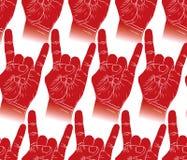 Тряхните картину рук безшовную, утес, металл, st музыки рок-н-ролл Стоковые Фотографии RF