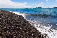 Тряхните пляжи на острове Hin Ngam, провинции Satun Таиланде Стоковая Фотография RF