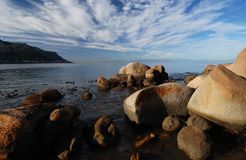 тряхните seascape Стоковые Фото