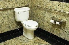 Туалет ванной комнаты гранита Стоковые Фото