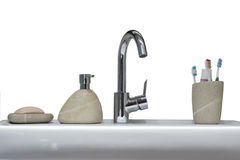 туалет вспомогательного оборудования Стоковые Фото
