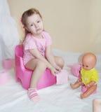 туалет малыша бумажный Стоковая Фотография RF