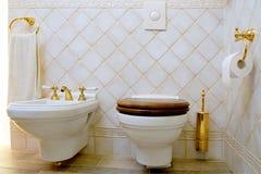 туалет Стоковая Фотография RF