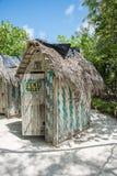 Туалет Gents на острове тайны Стоковая Фотография
