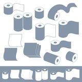 Туалетная бумага Стоковое Фото