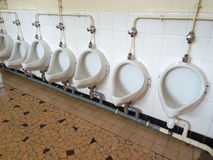 Туалеты делят школой, который Стоковые Изображения RF