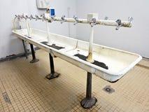 Туалеты делят школой, который Стоковое фото RF