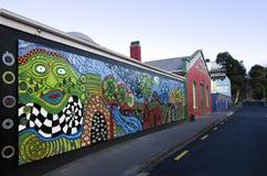 Туалеты Hundertwasser в Kawakawa NZ Стоковое Изображение RF