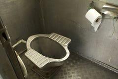 Туалет поезда Стоковое Изображение