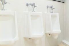 Туалет людей писсуара Стоковое Изображение RF