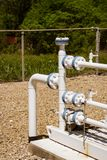 Тубопровод природного газа Стоковое Фото