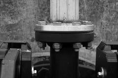тубопровод фланца стоковые фото