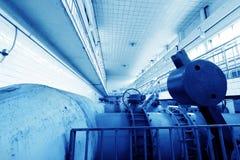 Тубопровод завода по обработке нечистот стоковое фото rf