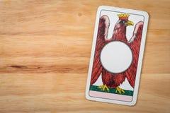Туз динара игры карточек Стоковые Фотографии RF