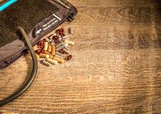 Тумак и лекарства кровяного давления Стоковые Фото