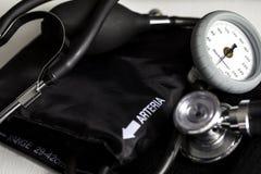 Тумак кровяного давления стоковая фотография