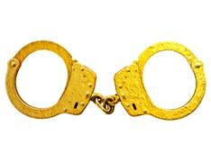 Тумак руки золота стоковое изображение