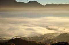 Туманная гора Стоковое Изображение