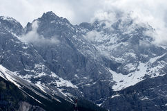 туманная гора Стоковое Изображение RF