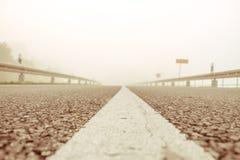 Туманная земля Стоковые Фотографии RF