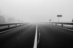 Туманная земля Стоковое Фото