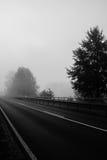 Туманная земля Стоковые Изображения