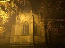 Туманная монастырская церковь Стоковые Изображения RF