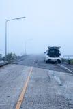 Туманная дорога Стоковые Изображения