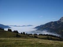 Туманнейшая долина Стоковая Фотография