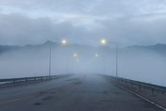 туманнейшая дорога Стоковая Фотография RF