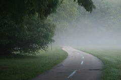 туманнейшая тропка стоковое фото rf