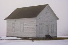 туманнейшее здание школы Стоковые Изображения RF
