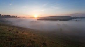 Туманнейшее река Стоковые Изображения RF
