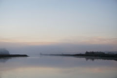 Туманнейшее река Стоковое фото RF
