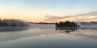 туманнейшее утро Стоковые Фотографии RF