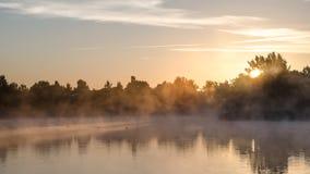 туманнейшее утро Стоковые Изображения RF