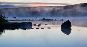 туманнейшие воды Стоковые Фото
