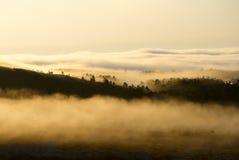 Туманнейшие горы Стоковые Фотографии RF