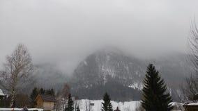 туманнейшие горы стоковые фото