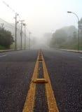 туманнейший ландшафт Стоковое фото RF