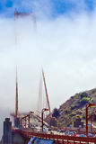 туманнейший строб золотистый Стоковая Фотография