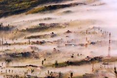 Туманное и туманное утро Стоковые Фото