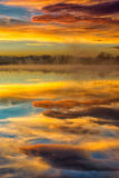 Туманное отражение Стоковые Изображения RF