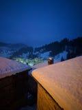туманное утро стоковые фотографии rf