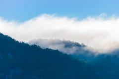 туманные горы Стоковые Изображения RF