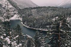 туманные горы Стоковое Фото