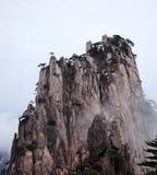 Туманные горы Huangshan Стоковое Изображение