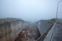Туманные запруды Стоковое Изображение RF
